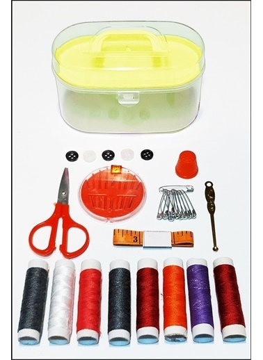 Kitchen Love 36 Parça Dikiş Seti Sarı